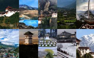 10 Places to Visit in Bhutan
