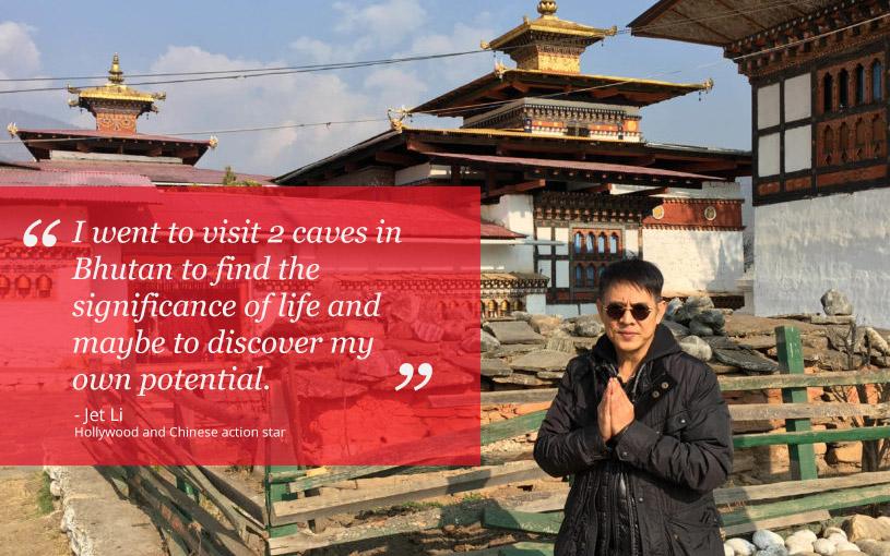 Jet Li in Bhutan