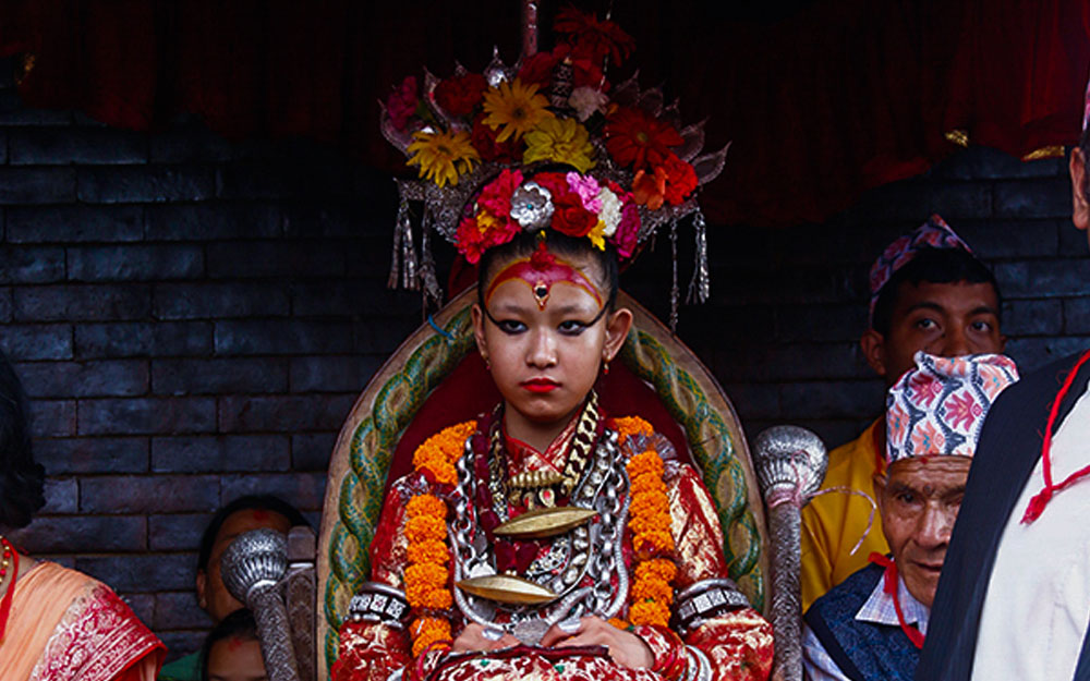 Living Goddess Kumari of Lalitpur
