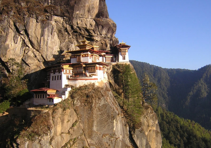 The Tiger's Nest Monastery-Taksang