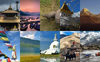 10 Places of Interest in Nepal