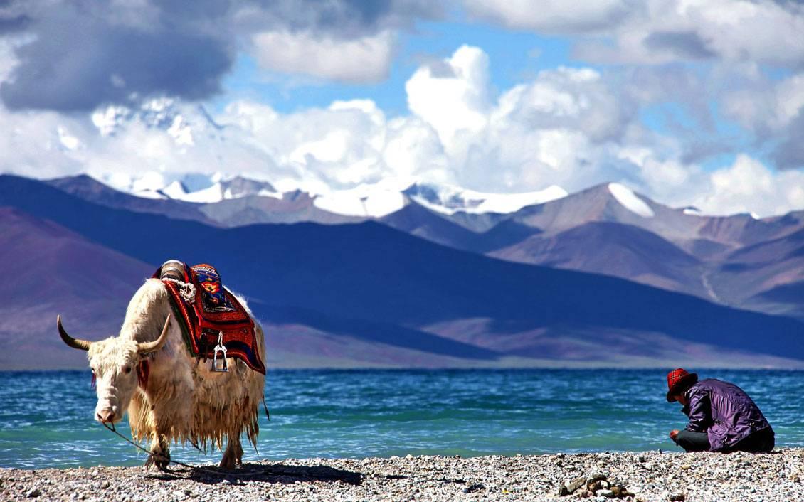 Resultado de imagem para lago Namco no tibet